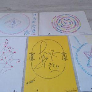 light language drawings